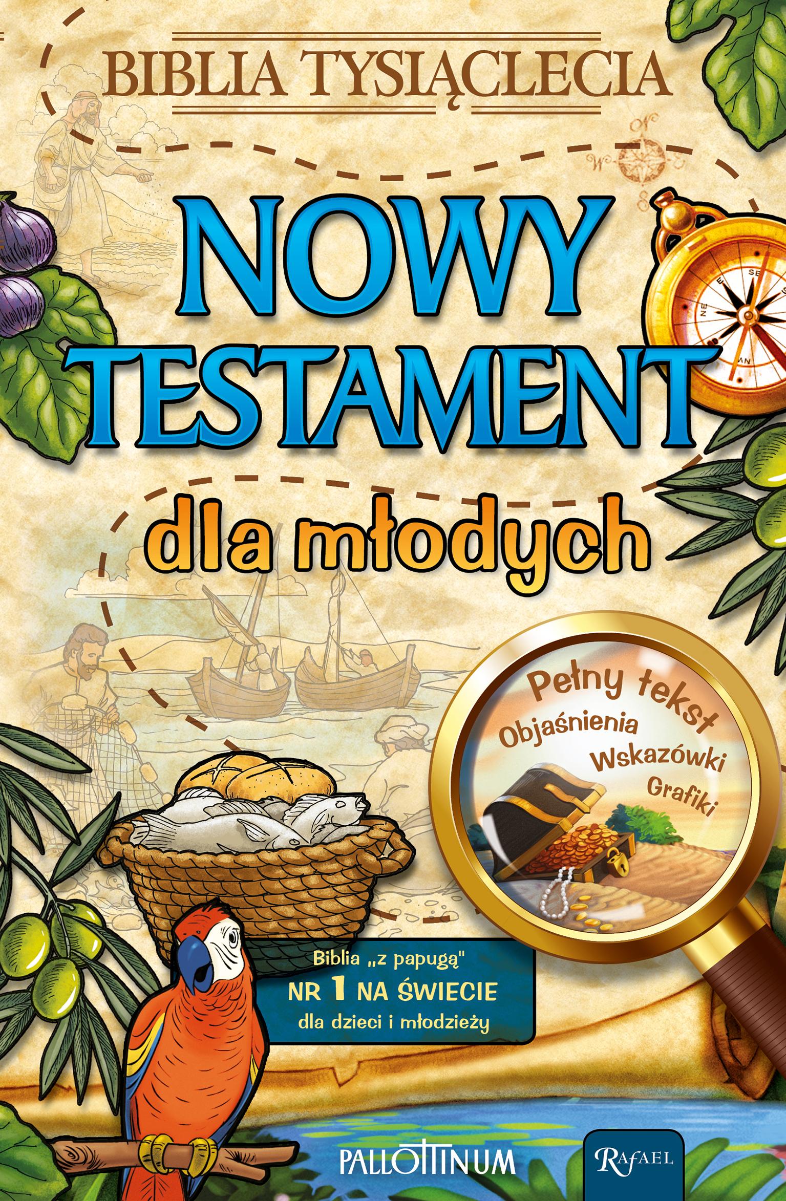 NOWY TESTAMENT DLA MŁODYCH BIBLIA TYSIĄCLECIA,