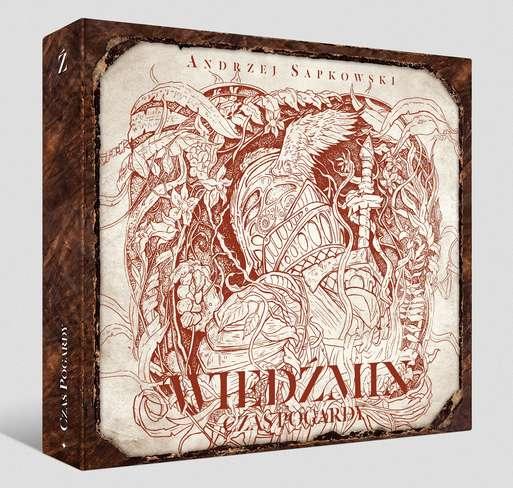 CD MP3 CZAS POGARDY WIEDŹMIN TOM 4, Sapkowski Andrzej